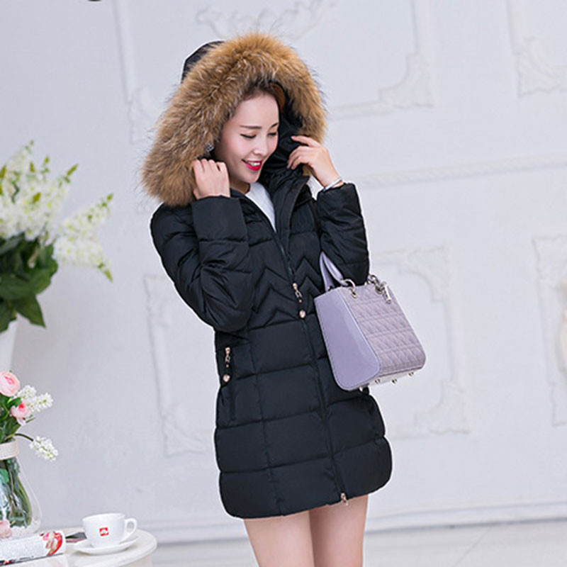Fashion Casual Coat Plus Size Winter Fur Collar Hooded High Quality Padded Parka Cotton Jacket Women Outerwear 6XL TT2914 стоимость