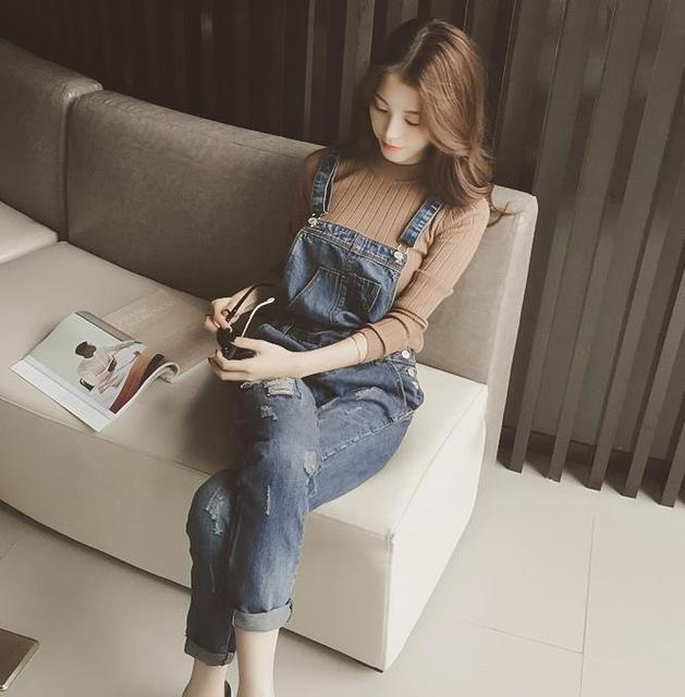 2015 горячая весна корейский одежда для беременных беременные брюки Джинсы одежда летние джинсовые комбинезоны одежда для беременных беременные женщины