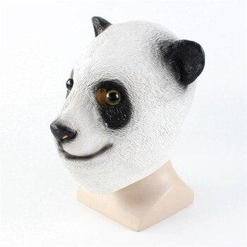 Маска для хэллоуина панда