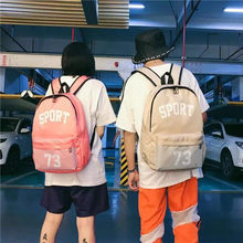 2019 Fashion leisure women's korean backpack ladies casual backpack travel bags for School for teenage girls classic backpack недорого
