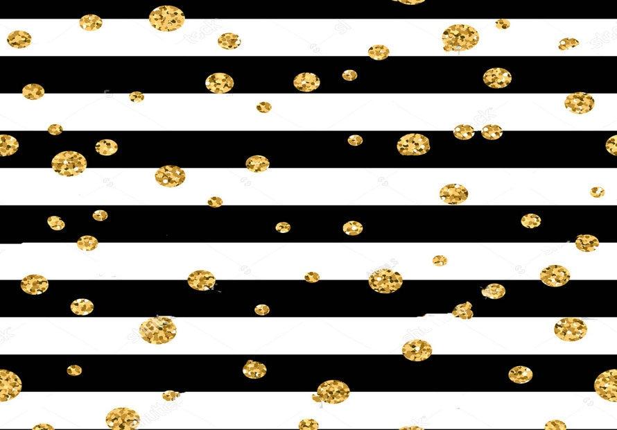 Stripe Wedding Gold Polka Dot Black White Stripes Backdrop Vinyl Cloth High Quality Computer Print Christmas Background Background Aliexpress