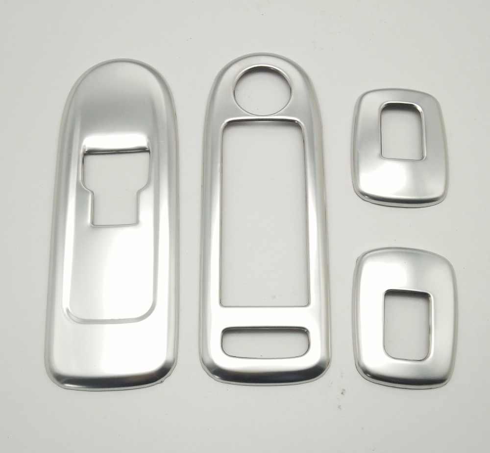 SKTOO PARA Citroen C5 Peugeot 508 especial modificado interruptor levantador de vidro decorativo/caixa braço reequipamento da barra de luz interior