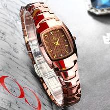 ONTHEEDGE Calidad Superior de La Manera Famosa Marca Del Reloj de Cuarzo Relojes de Las Mujeres Relogio Feminino Reloj Mujer Montre Femme