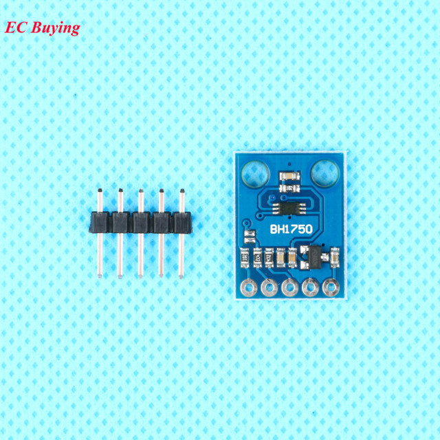 5pcs/lot GY-302 BH1750 BH1750FVI light intensity illumination module for arduino 3V-5V GY302 Sensor Module