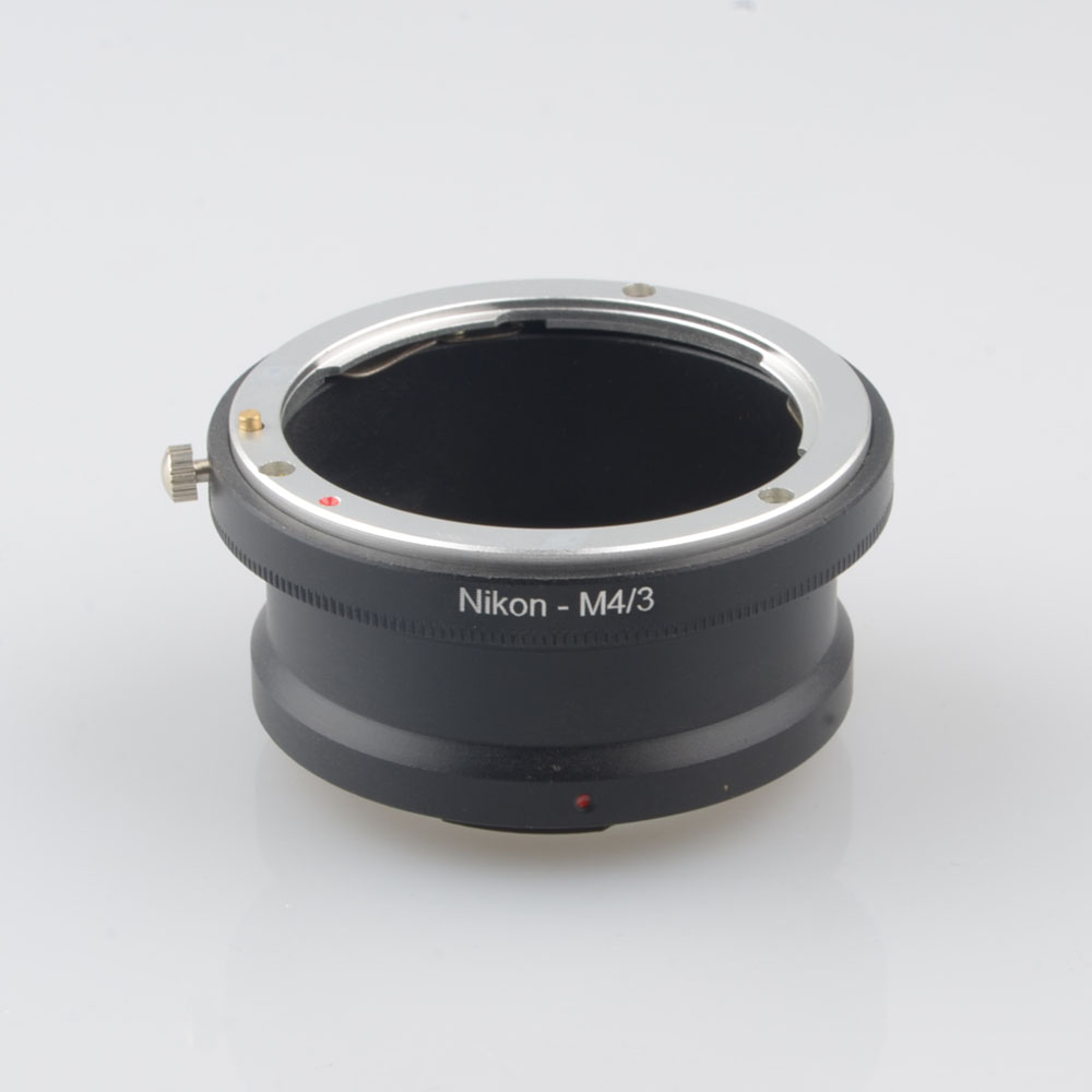 AI M4 3 Lens Adapter Ring for Nikon F AI AF Lenses to Micro 4 3