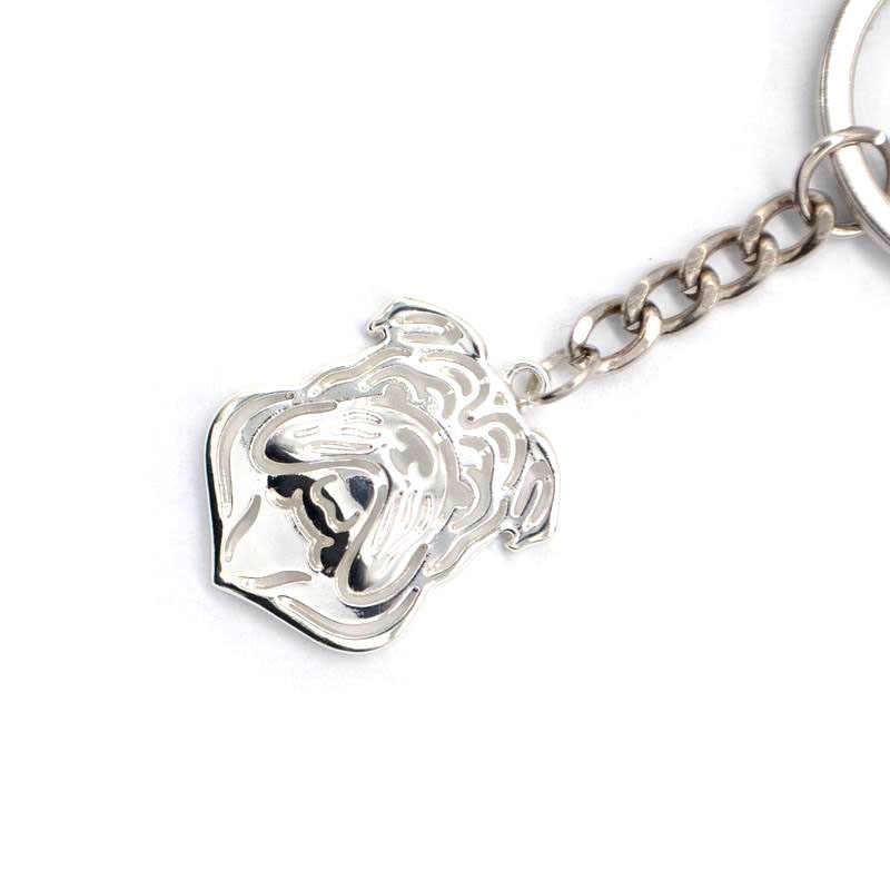 2019 แฟชั่นผู้หญิง Silver Silver Key คนรักสัตว์เลี้ยง Bulldog ภาษาอังกฤษ Key