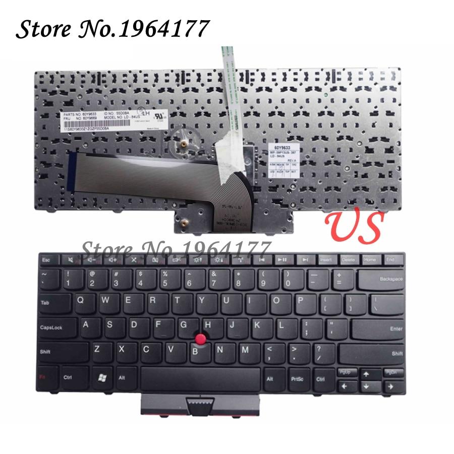 New for Lenovo for Thinkpad Edge E40 E14 E50 E15 Keyboard Teclado US English 60Y9669 60Y9597