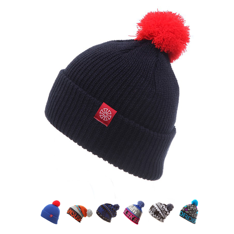 Fashion Snowboard Winter Ski Hat Warm Woolen Caps For Men Hats Female   Beanies     Skullies   Beany Quality Gorros Hombre Casquette