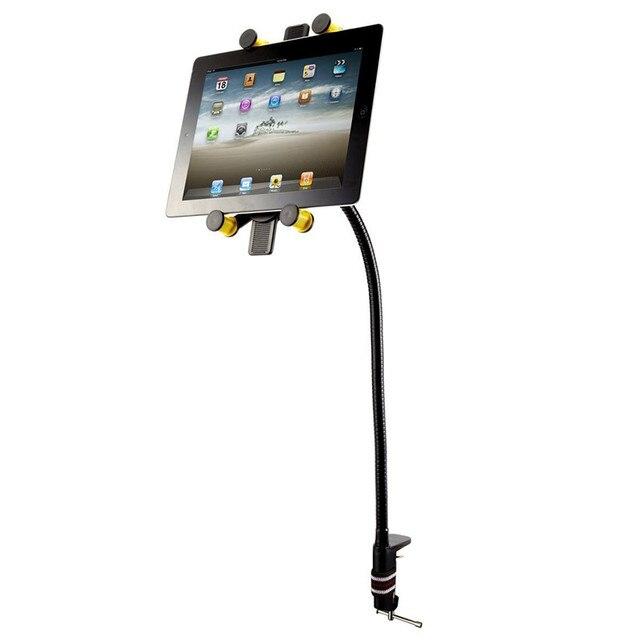 Mesa rotativa tablet stand titular para ipad 2/3/4 5 mini ar samsung para 5-11 polegada tablet pc preguiçoso bed tablet mount holder