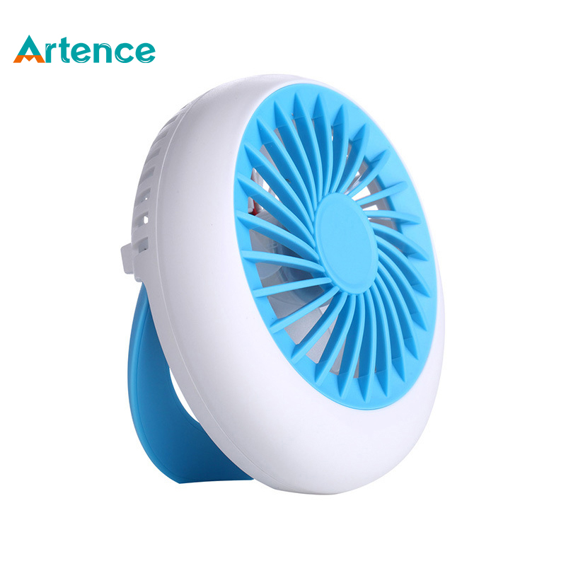 Portable Outdoor Usb Rechargeable Mini Fan With Lithium