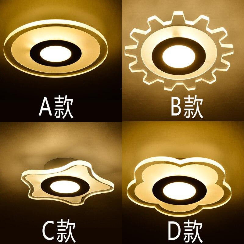Modern creative lighting ceiling LED Ceiling Lights corridor lamp entrance hall light ultra thin balcony storage