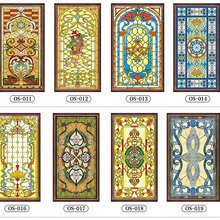 Church Custom size window privacy film glass sticker frosted Static Cling stained sun protection self-adhesive Decorative films