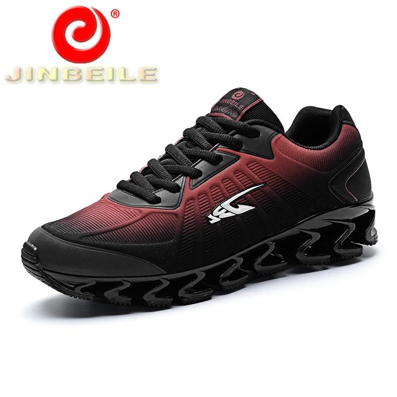 Jinbeile высокое качество Для мужчин Спортивная обувь Лезвие воин Дизайн Для мужчин кроссовки Весна и осень уличные кроссовки Для мужчин; Беспл... ...