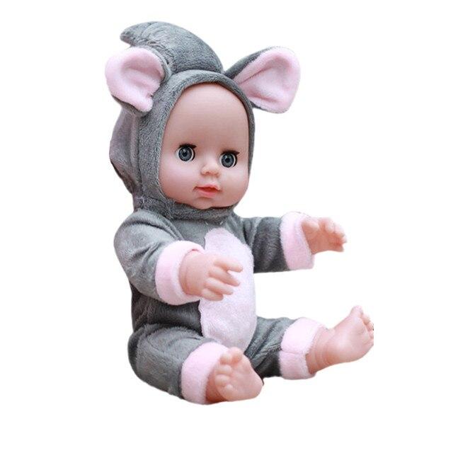 Lol Boneca Surpresa Para Meninas De Borracha Corpo De Silicone Boneca de Brinquedo Para Crianças De Menina Bebe Reborn Emulado Bonecos Macios Brinquedos k418