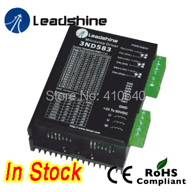 Leadshine 3ND583  3 Phase Analog Stepper Drive  Max 50 VDC / 8.3A suitable for fit nema 23 and 34 stepper motor leadshine 2 phase analog stepper driver m542 max 50 vdc 4 2a for stepper motor nema 23