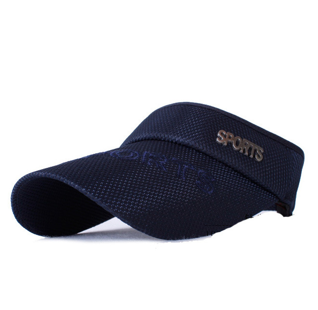2018 New Hot Selling Tennis Caps Stylish Women Men Unisex Beach Sports Sun  Visor Hat Golf b83a9b246444