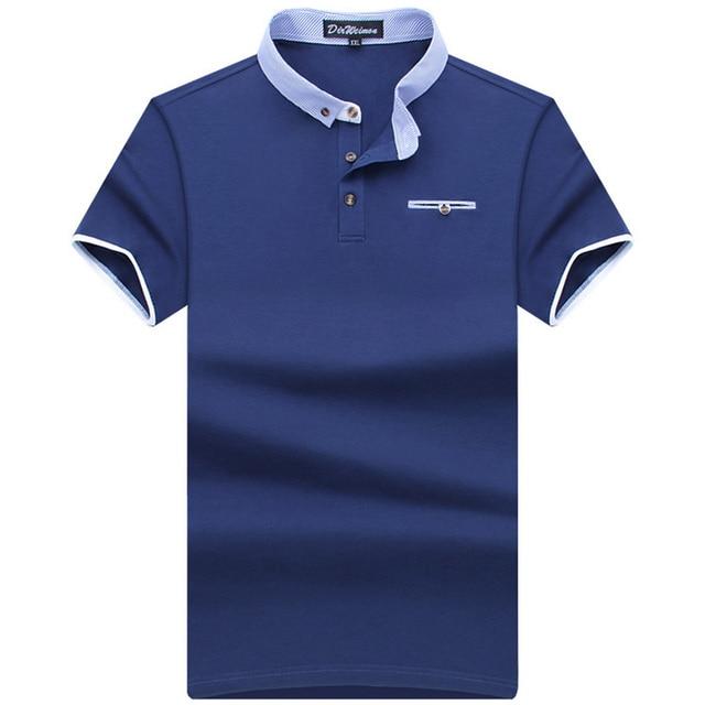 93c80383 New 2018 Men's Brand Summer Polo Shirt Polos Men Short Sleeve causal shirt  classical style