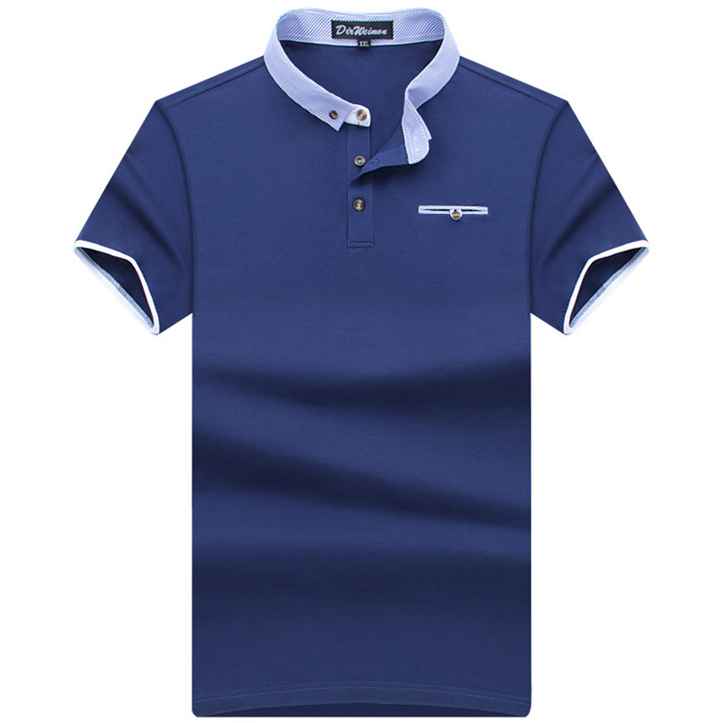New 2019 Men's Brand Summer   Polo   Shirt   Polos   Men Short Sleeve causal shirt classical style