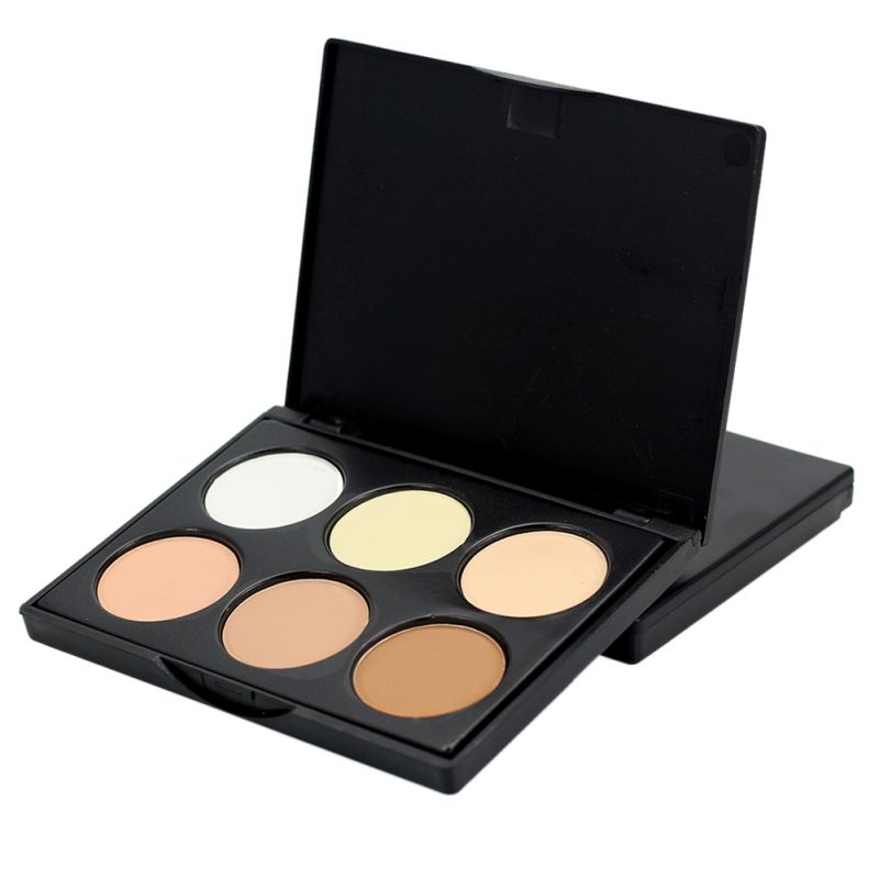 Pro Makeup Compact Face Powder Contour Make Up Studio Fix Bronzer Shading Mineral Pressed Powder Palette