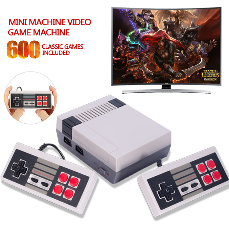 HD HDMI TV Video Game Console Classic Handheld Game Console Built-in 500/600 For Nes Games PAL&NTSC format gamepad mini Console