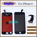 AAA Nenhum Pixel Morto Substituição de 4.7 polegadas Tela Lcd & Digitizer painel de toque montagem completa para iphone 6 black white livre dhl