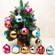 24pcs/ lot Christmas Tree Decor Ball Bauble Hanging Xmas Party Ornament Christmas Decoration R065