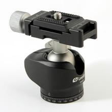 Aleación de aluminio trípode joby/rotula con placa de liberación rápida de carga máxima 6 kg para benro manfrotto mini mesa trípode