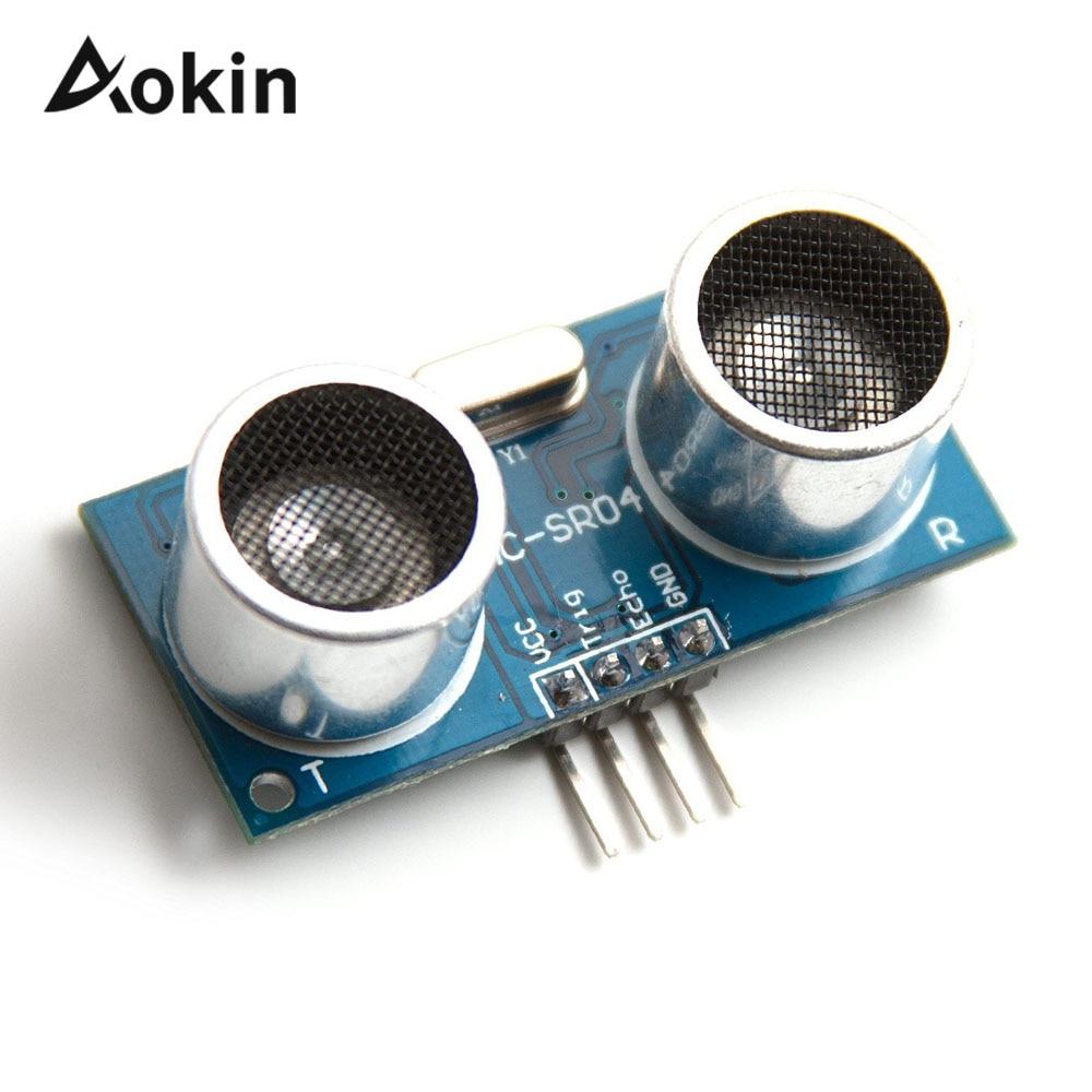 2Pcs Sensor Module Temperature Compensation Distance Measuring US-100 Ultraso il