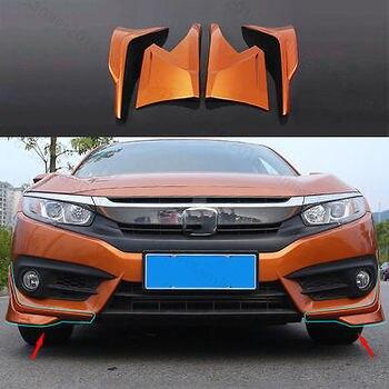 4x Cam PHÙ HỢP Cho Xe Honda Civic 16 + Trước & Sau Môi Ốp Lưng Máy Khuếch Tán Tinh Dầu Bảo Vệ Da