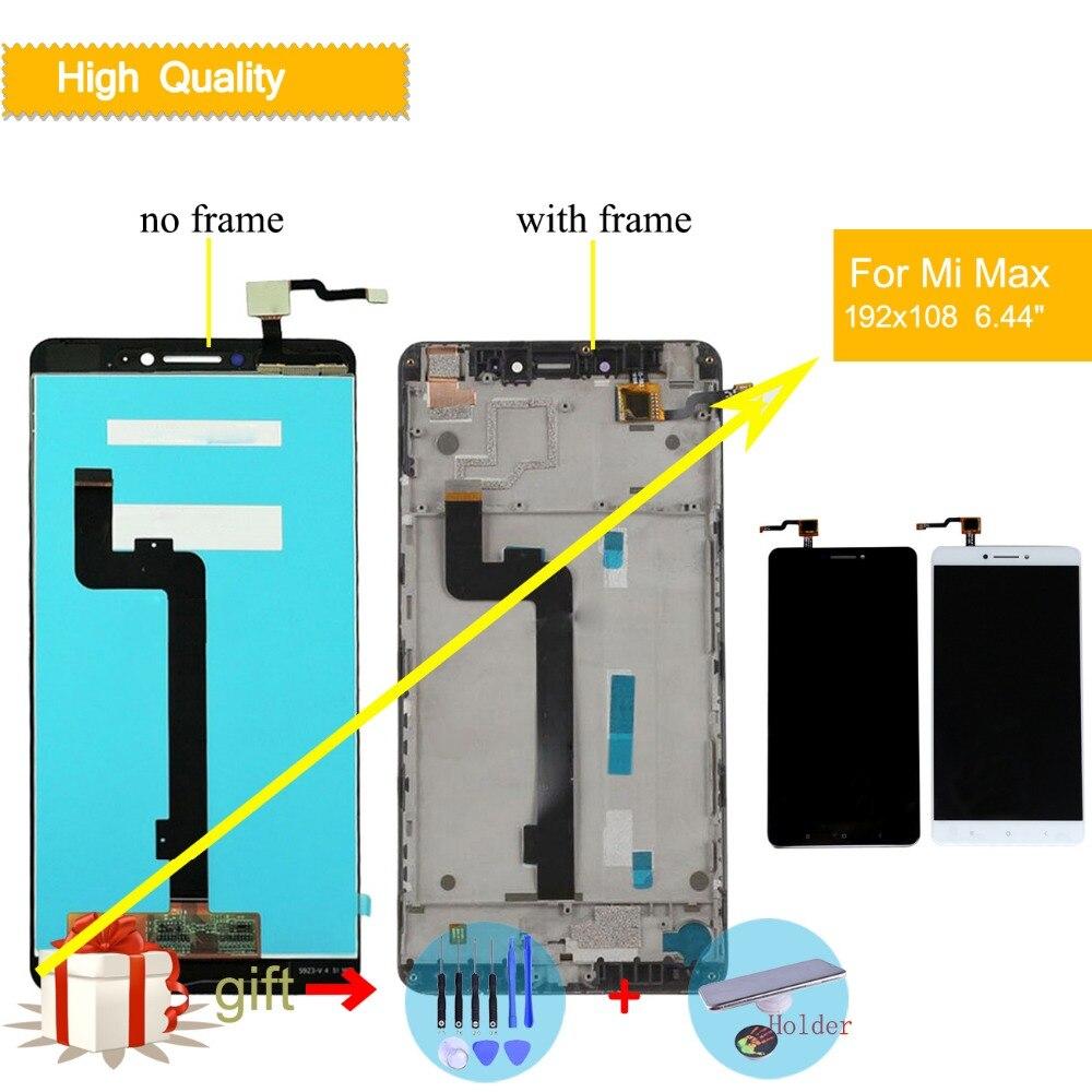 6.44 ORIGINAL Screen For XIAOMI Mi Max LCD Display Touch Screen mimax with Frame for Xiaomi Mi Max LCD Display Replacement