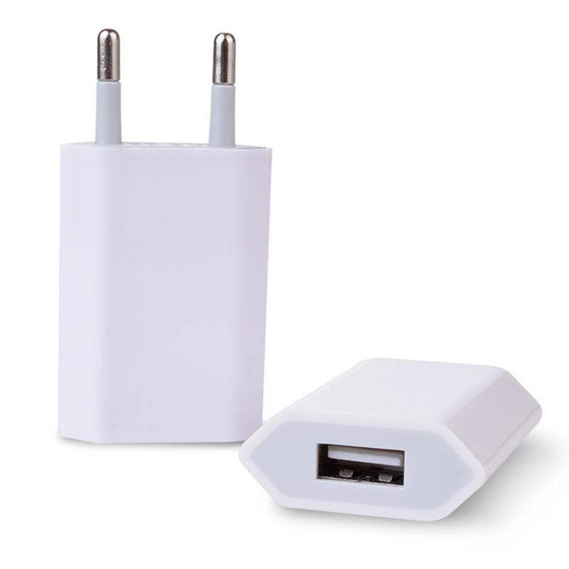 eu plug us usb wall charger adapter for apple iphone 4 4s. Black Bedroom Furniture Sets. Home Design Ideas