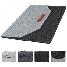 High Quality Soft Bussiness Wood Felt Sleeve Bag Case For Apple Macbook Air Pro