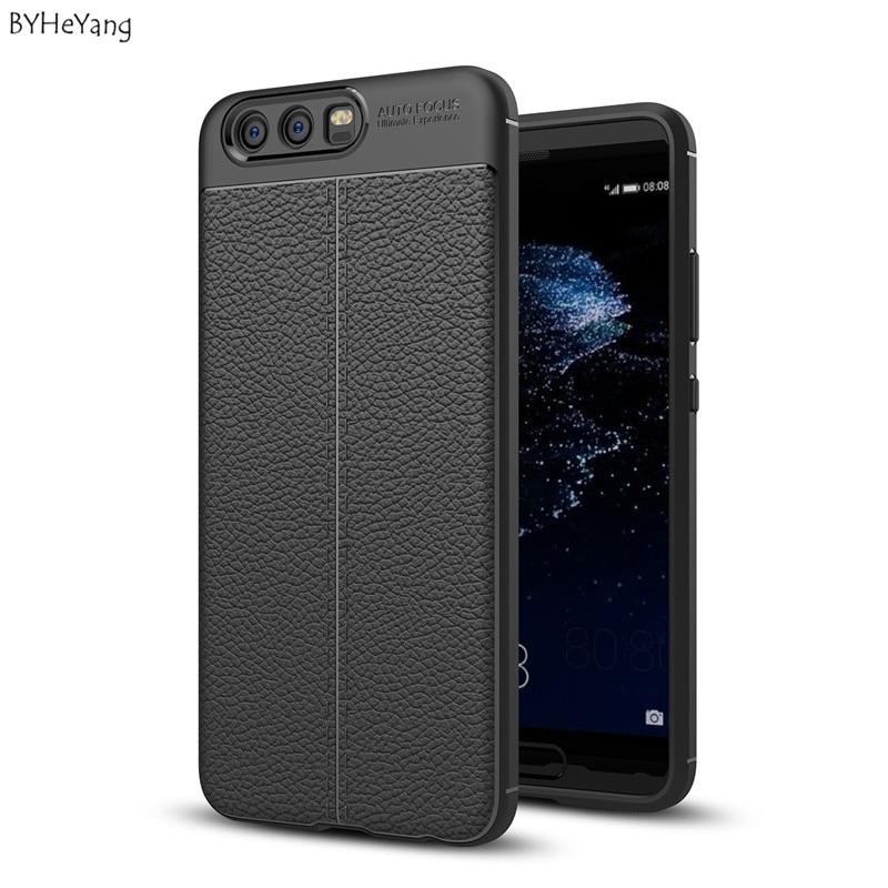 Byheyang для Huawei P10 Чехлы флип из мягкой кожи ТПУ Защитная крышка для Huawei P10 чехол для телефона кожа тонкая тонкий чехол для P 10