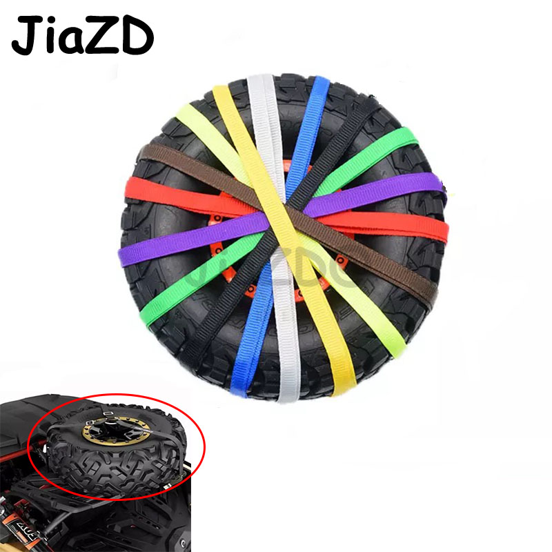 1PC Spare Tire Straps Universal Tire Tie Down Strap Simulation Wheels Fixed Rope for UDR RR10 90050 LOSI Crawler RC Cars Decor|Parts & Accessories| - AliExpress