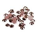 1000 pcs 2-5mm Cor de Cobre Facetas de Resina Strass Flatback Não Hotfix Cola Em Diamantes DIY Prego 3D arte Saco de Roupas Acessórios