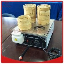 KA500D-4 Mini Elektrikli 4 ile Çin Bun Steamer Gıda Vapur buhar çıkış