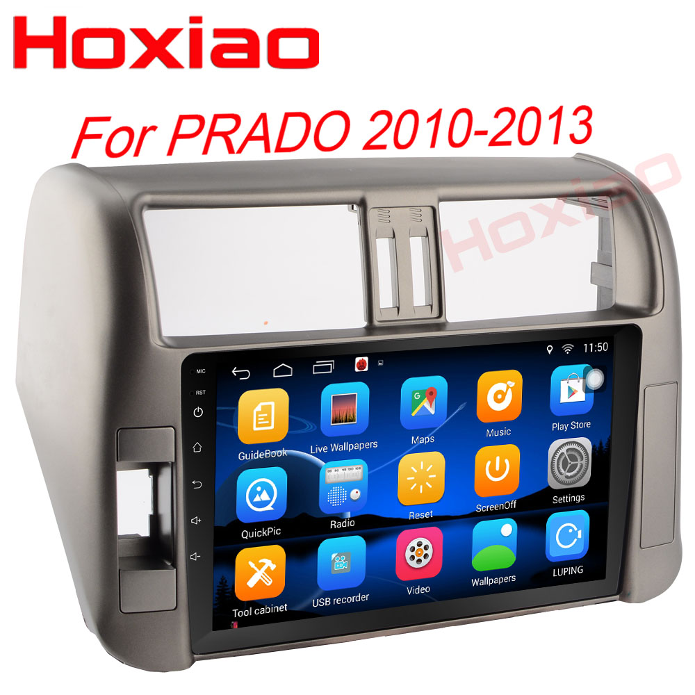 Android For Toyota PRADO 150 2010 2011 2012 2013 Quad Core 9 1024 600 Bluetooth 2