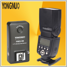 купить YONGNUO YN565EX II Radio TTL Speedlite Flash Speedlight + YNE3-RX 2.4Ghz E-TTL Wireless Flash Receiver Trigger For Canon Cameras дешево