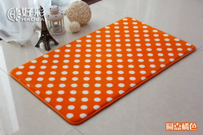 Orange Bath Rug Roselawnlutheran - Burnt orange bathroom rugs for bathroom decor ideas