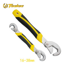 2pcs/set Multi-Function Universal Wrench Adjustable Grip Movable Set 6-32mm Ratchet Spanner Hand Tools