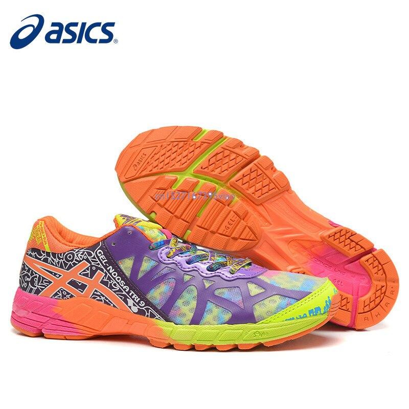 2019 Original Asics gel-noosa TRI9 baskets chaussures pour femmes respirant course chaussures pour femmes en plein air Tennis Sneaker offre spéciale