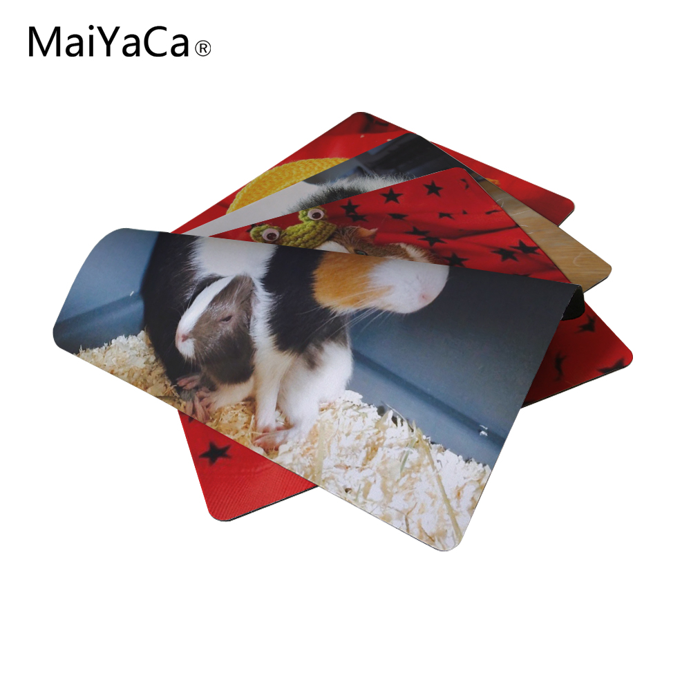 MaiYaCa New Small Size Computer desktop Guinea pig Mouse Pad Non-Skid Rubber Pad 220mmX180mmX2mm and 250mmx290mmx2mm Mouse Pads