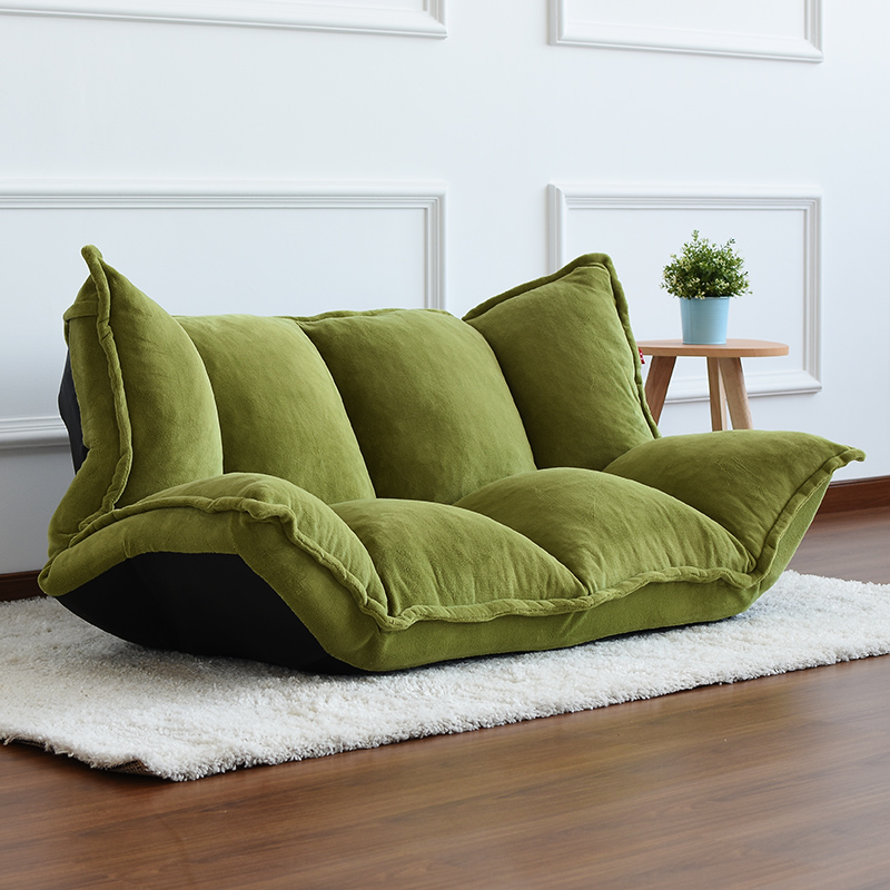 Floor Furniture Reclining Japanese Futon Sofa Bed Modern Folding Adjule Sleeper Chaise Lounge Recliner For Living Room