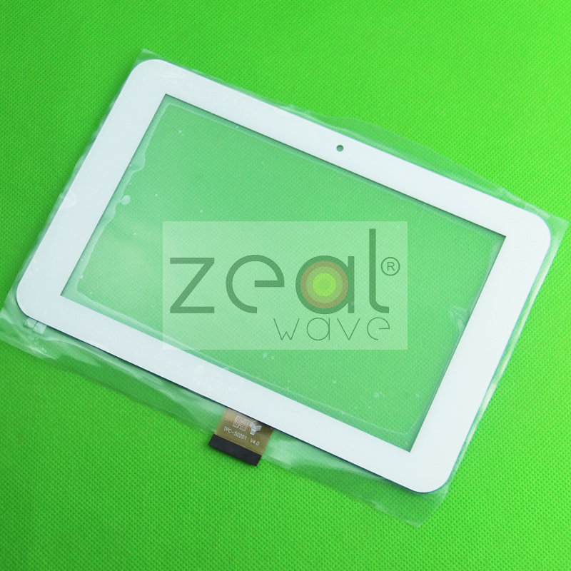 7 inch White/Black Touch Screen For Window N70 Yuandao N70 Double HD Tablet TPC-50201 V4.0 Glass Panel Replacement