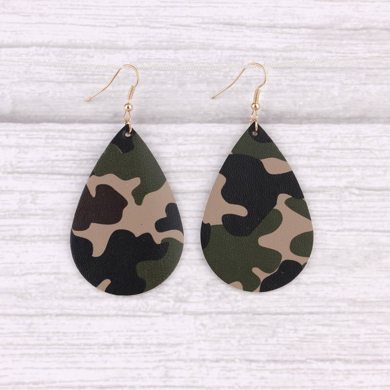 Scout Camo Drop Earrings (2 HOT!!) 4