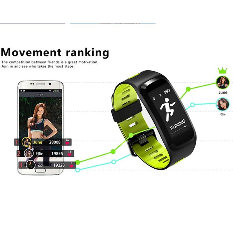 Nieuwe Product Sport Van Smart Armband Apparatuur Met Zwemmen Tafeltennis Functie Smart Wrist Band Voor Ios/android Smart Band