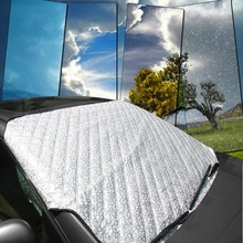 High Quality Car Windshield Snow Sunshade Cover Universal Auto SUV Front Windscreen Frost Sun Shade 4 Seasons Protection