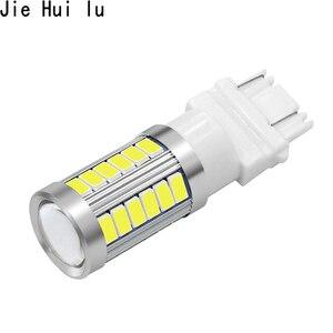 Image 3 - 1 Pcs T25 3156 3157 P27/7 W 33 Smd 5630 5730 Led Auto Remlichten Motor Dagrijverlichting licht Richtingaanwijzer Wit/Rood/Geel/Amber