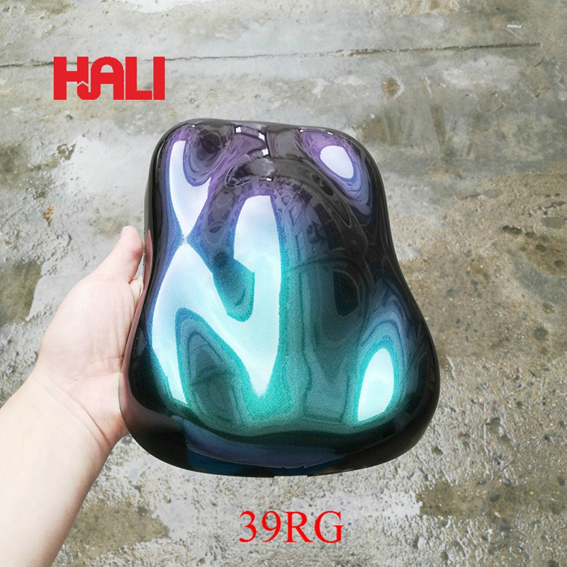 sell chameleon series mica pigments optical changable pigmentchameleon pigment powder 1lot 100gram 39RG red green free