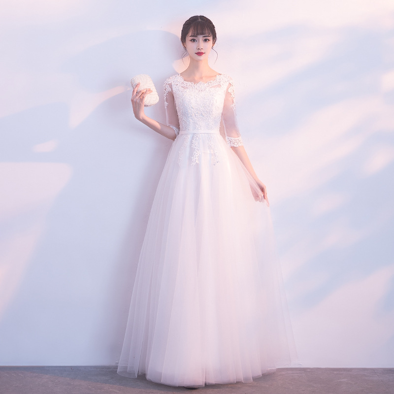 女性のチャイナアジアン花嫁の結婚式のイブニングパーティードレス中空アウト O 袍のウェディングメッシュドレスガウンサイズ XS XXL  グループ上の ノベルティ & 特殊用途 からの チャイナドレス の中 1